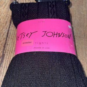 Betsey Johnson, Tights, black Sweater